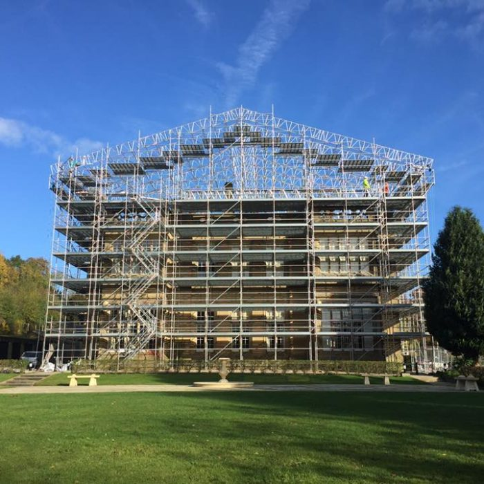 Eshton Hall Manor Scaffolding