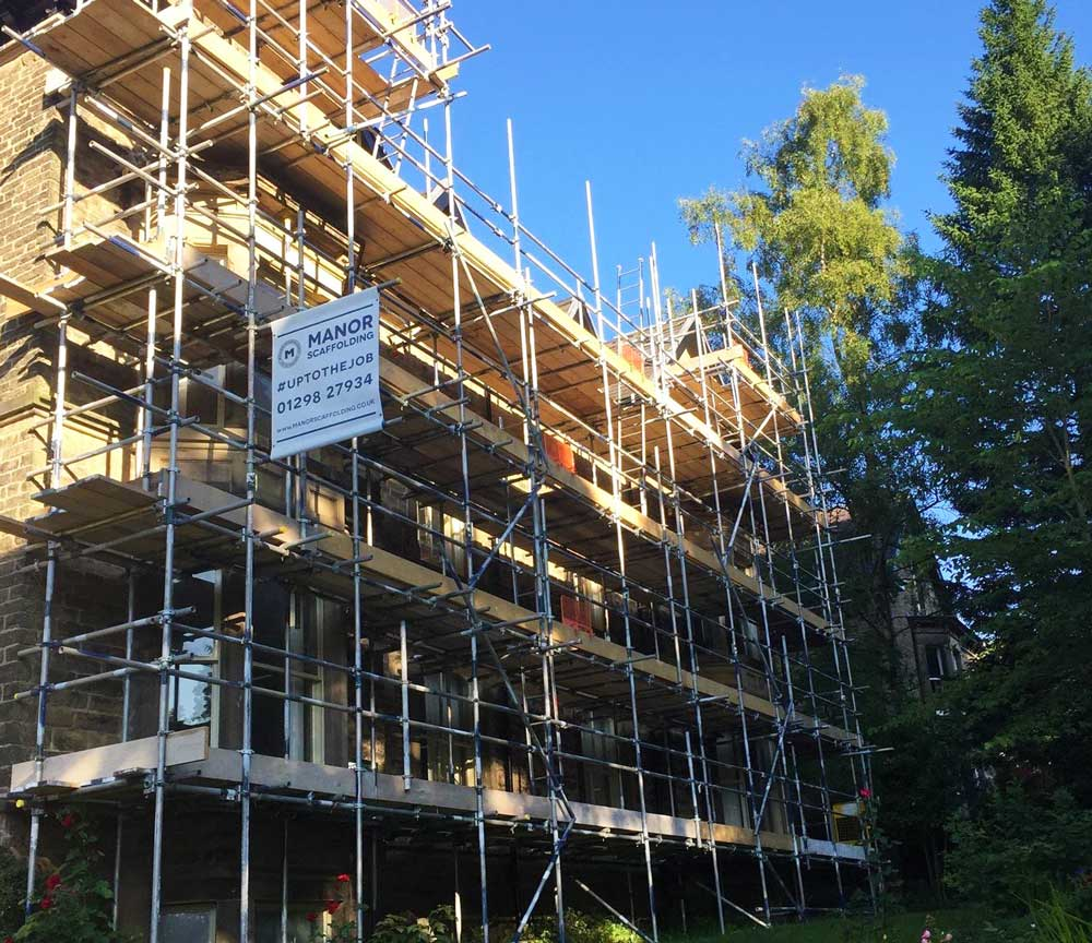 residential scaffold access